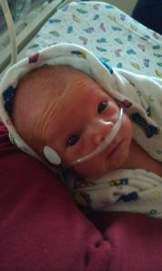 Lila Borgsteadt in the NICU