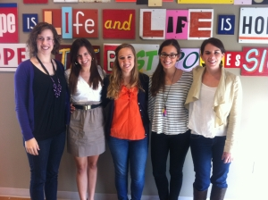 photo of interns
