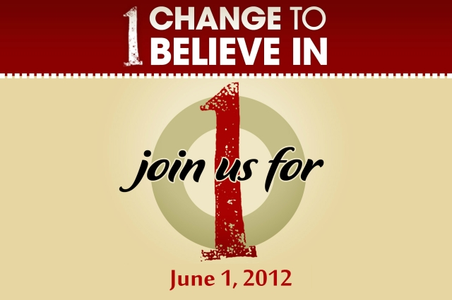 Join us for 1, June 1, 2012