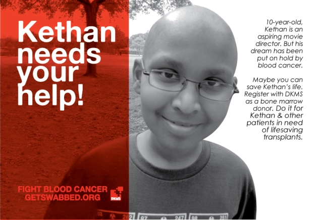 Bone Marrow Drive for Kethan and others like him