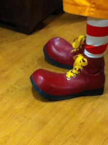 Ronald's Big Feet