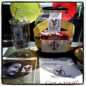 TMLT employees collected spare change to donate to support our families.