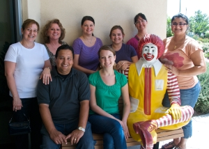 TMLT Volunteers at the Ronald McDonald House in Austin