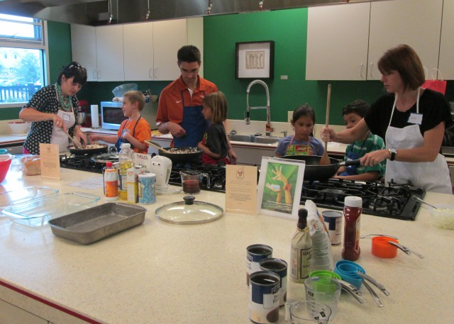 Little Helping Hands Cooks at the Ronald McDonald House