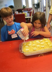 Young Volunteers Cook for Ronald McDonald House Families