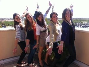 interns have fun at Ronald McDonald House Charities