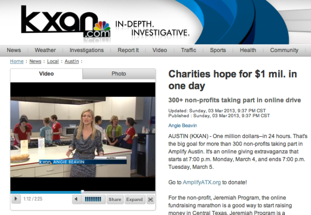It was fun talking with Angie last night for this story. And the Southwestern ADPi's were cooking for the families!