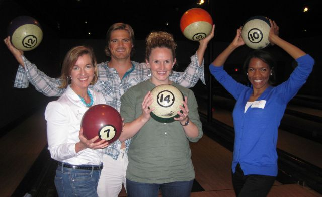 Some of our mighty bowlers showed those pins who was boss!