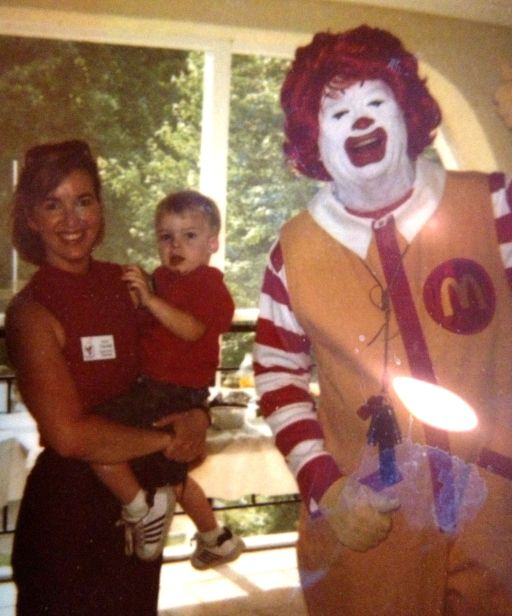 Brandon and me with Ronald in Kansas City