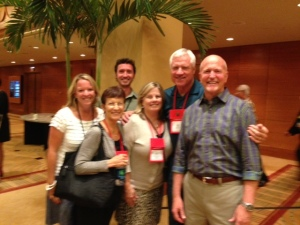 Kent, Paula, Pam (Exec. Dir. from Delaware) & Me with Fred & Fran Hill (RMHC Founding Family)