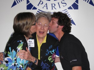 Here's Derrick and me with one of our favorite people - Mary Pendleton. We all want to be like Mary when we grow up!