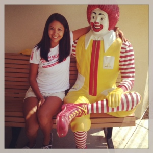 My recent visit to the Ronald McDonald House